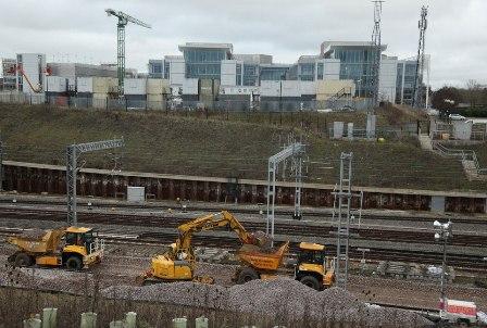 Предполагается рождественский железнодорожный транспортный хаос