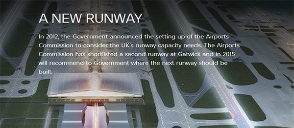 Gatwick 3rd runway discustion