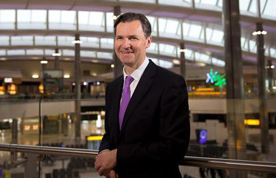 First day at work; Heathrow new boss face chaos