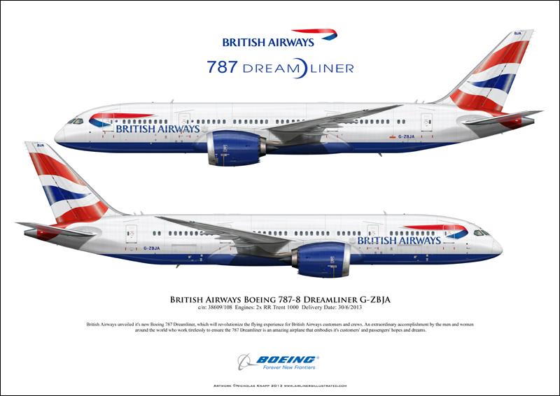ba s boeing 787 dream liner to fly over leeds bradford international