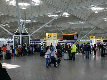 UK's fastest growing Airport Stansted sees the opening of a Mega tax free Next store