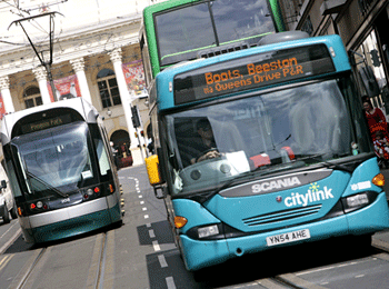 Nottingham Transport Ranked Best in the UK