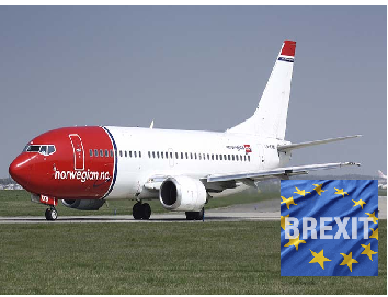 Norwegian Air Defies Brexit Fears with Low cost Flights and Expansion Plans