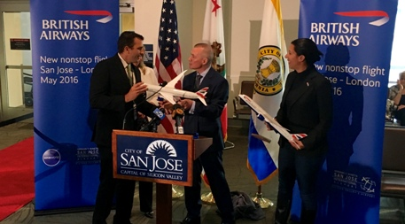 British Airways Launches Non-stop Flights From San Jose