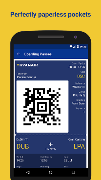 Book flight direct with ryanair