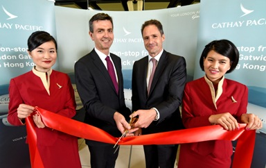 Gatwick Ventures to the Far East