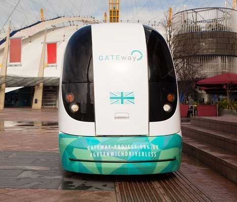 Driverless Vehicle Tests Begin in London