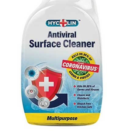 Coronavirus killer spray